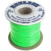 Vinyl Lace Flat 100yds Neon Green